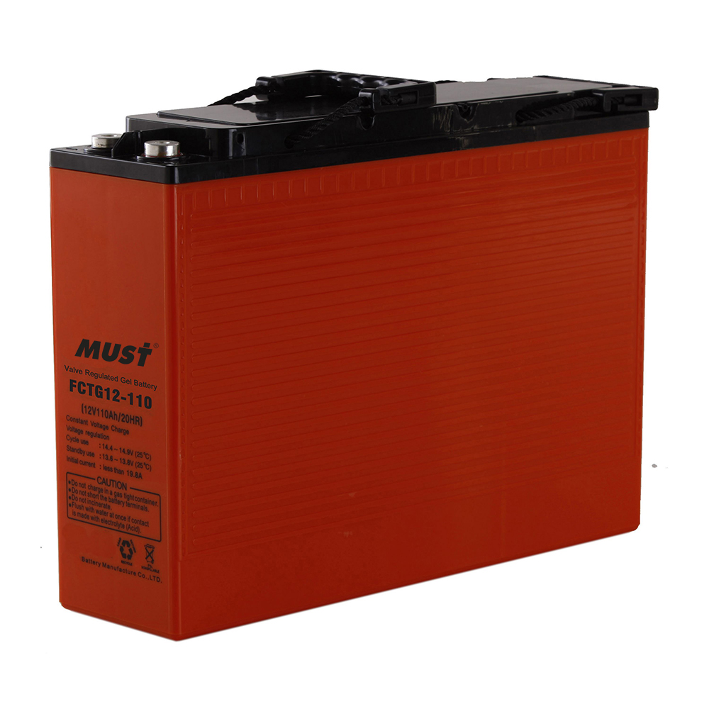 Front Access Lead Acid Gel VRLA Battery FCTG Series 12V