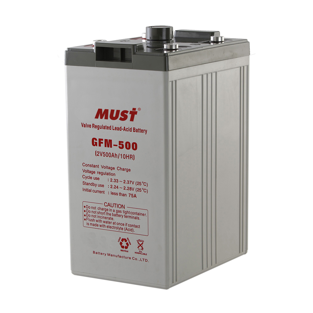 Long Life AGM VRLA Battery GFM Series 2V